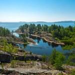 Rocky islands of Ladoga lake — Stock Photo #32522987