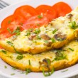 Omelet with mushrooms — Stock Photo #12873665
