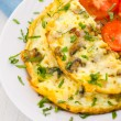 Omelet with mushrooms — Stock Photo #12873715