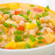 Vegetarian white bean soup — Stock Photo #13211509