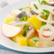 Stock Photo: Herring salad with apple and potato