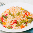 Rice with vegetables — Stock Photo #17472619