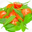Fresh salad with tomatoes and rucola — Stock Photo #25782995