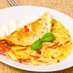 Omelet — Stock Photo