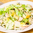 Plate with fresh caesar salad — Stockfoto #31342041