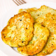 Zucchini pancakes — Stock Photo #32054613