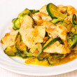 Chicken fillet with zucchini — Stock Photo #44438483