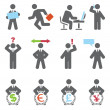 Vector de stock : Business icons