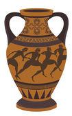 Wazon grecki — Wektor stockowy
