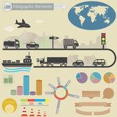 Infographics elements. — Stock Vector