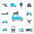 Transport icons — Stock Vector #26112517