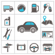 Auto icons — Vector de stock #28987213
