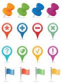 Navigation Icons — Stockvektor