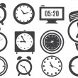 Clock — Stock Vector #31598895