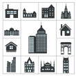 Buildings Icons — Stock Vector #31598897