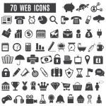 Icônes Web — Vecteur