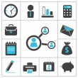 Stock Vector: Buisness icons