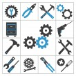 Tools icons — Stock Vector #36459945