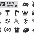 Sport icons — Stock Vector #38183739