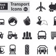 Transport icons — Stock Vector #38183743