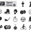 Sport icons — Stock Vector #38183759