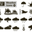 Weather icons — Stock Vector #38183785