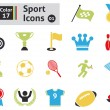 Sport icons — Stock Vector #38419187