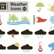 Weather icons — Stock Vector #38419249
