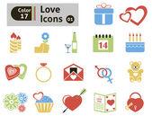 Valentine's icon — Stock Vector