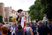 Giants Parade in Barcelona La Mercè Festival 2013 — Foto Stock