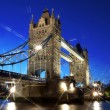 Evening Tower Bridge, London, UK — Stock Photo #13386419