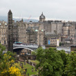 Edinburgh vista from Calton Hill, UK — Stock Photo #13386484