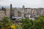 Edinburgh vista from Calton Hill, UK — Stock Photo