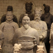 Stock Photo: Type of famous terracottwarriors of XiAn, China