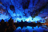Reed Flute Caves in Guilin, Guangxi Provine, China — Stock Photo