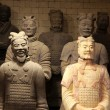 The famous terracotta warriors of XiAn, Qin Shi Huang - Stock Photo