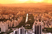 Sundown in Beijing, China — Stock Photo