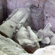 Excavation of terracotta warriors of XiAn, Qin Shi Huang — Stock Photo