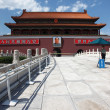 Tienanmen Gate (The Gate of Heavenly Peace) — 图库照片 #14438273