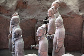 Terracotta warriors of XiAn in Qin Shi Huang — Stock Photo