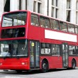 Stock Photo: Traditional London Double decker red bus