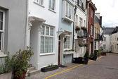 Casas típicas de inglês em londres — Foto Stock
