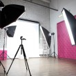 Interior of a modern photo studio — Stock Photo #15396969