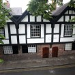Stock Photo: Fasade house of Tudor style in Chester, UK