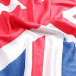 UK Flag Union Jack — Stock Photo #16044761