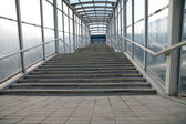 Train Station Stairs — Stock Photo