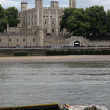 Tower of London on the Thames river, UK — Stock Photo #16052451