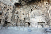 Luoyang The Buddha of Longmen Grottoes in China — Foto Stock