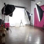 Interior of a modern photo studio — Stock Photo #16321049