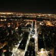 Nighttime in New York, Manhattan — Foto Stock